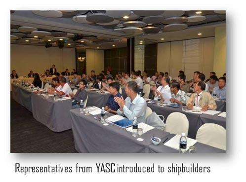 YASC & Pansar Captivates Shipbuilders With The Yanmar 12AY