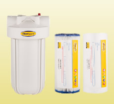 Sediment Filtration with correct FilterPure filter cartridge