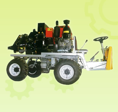 Wood Chipper<br />(4-Wheel Drive)